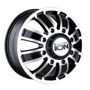 17 Inch 17x6.5 Ion Alloy wheels STYLE 166 Gunmetal Matte