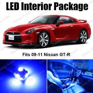 Nissan GTR Blue Interior LED Package (7 Pieces)