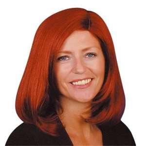 Pams Female Wigs Short  Medium  Fashion Wig (Auburn