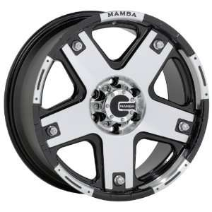 16x8 Mamba Type M6 (Black / Machined) Wheels/Rims 5x127 (MAMM6 6873B