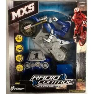 MXS Radio Control Stunt Bike (Blue) Toys & Games