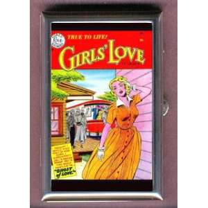 RETRO COMIC BOOK GIRLS LOVE Coin, Mint or Pill Box Made