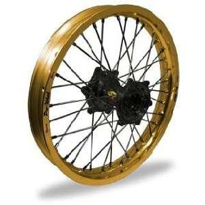 Wheel   Gold Rim/Black Hub , Color Gold 24 32024 HUB/RIM Automotive