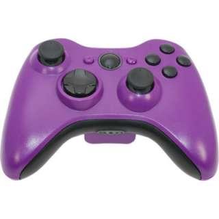 MadModz Matte Purple Blackout XBOX 360 Controller Kit
