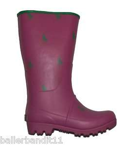 Polo Ralph Lauren Repeat Rain boots toddlers girls pink