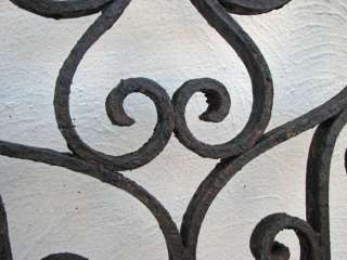 Antique WROUGHT IRON Gate or Fence Pieces ff257