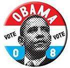 Vote Barack Obama Democrat President Button Pin 2 1/4