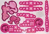 Fisher Price Power Wheels W6203 0311 Barbie Escalade Stickers/Decal