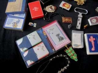 Junk Drawer Lot Jewelry Watch Zippos Automotive Pins Cards