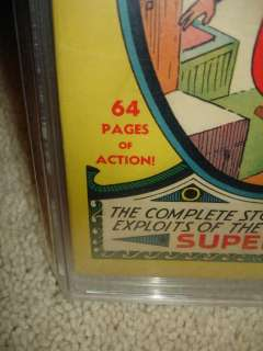 Superman #1 CGC 5.5 (R) 1939   Mega key Golden Age cm