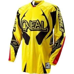 Road/Dirt Bike Motorcycle Jersey   Yellow/Black / Large Automotive
