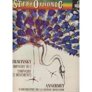 Stravinsky, Ansermet, LOrchestre de la Suisse Romande Music
