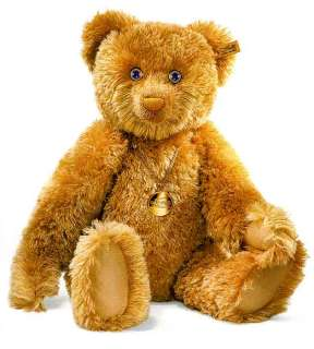 STEIFF ANNIVERSARY Teddy Bear Sapphires Gold Diamonds
