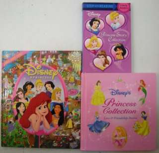 Princess Books Readers Look & Find Collection Love Friendship
