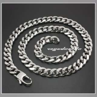 18 ~ 36 Cool 316L Stainless Steel Men`s Necklace Chain 5K010