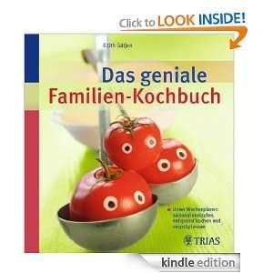 Das geniale Familien Kochbuch: Unser Wochenplaner: saisonal einkaufen