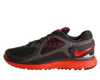 Nike LunarEclipse Anthracite Max Orange 2011 New Mens Running Shoes