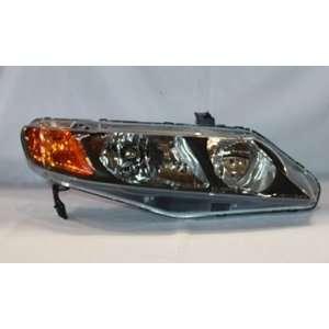 Honda Civic Sedan Head Light Right Hand TYC 20 6733 01 Automotive