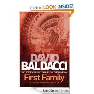 First Family David Baldacci  Kindle Store