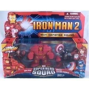 Super Hero Squad Iron Man 2 Iron Defense Squad 3 Pack with Iron Man