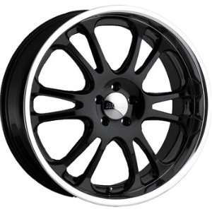 Boss 313 22x9.5 Black Wheel / Rim 6x4.5 with a 12mm Offset and a 82.80
