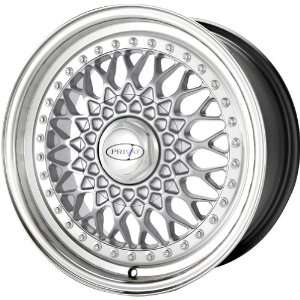 Privat Remember Silver Wheel with Machined Lip (16x7