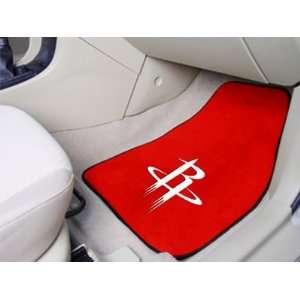 National Basketball Association Houston Rockets 2 piece Carpeted Car