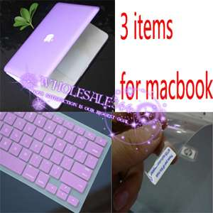 3in1 Rubberized Hard Case Cover for New Macbook PRO 15