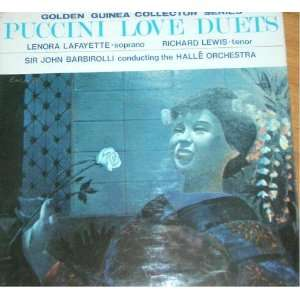 PUCCINI LOVE DUETS: Music