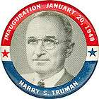 1949 President Harry Truman OFFICIAL INAUGURATION CEREMONIES PROGRAM
