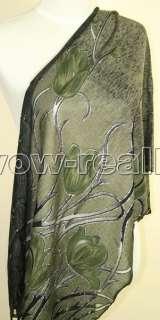 New Pretty Womens Knit Cotton Shawl Wrap Scarf #1657 )