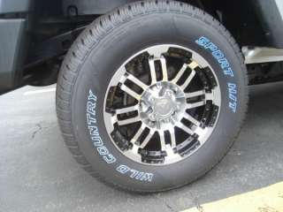 FORD CHEVY DODGE WHEELS VISION 16X8 JEEP WRANGLER