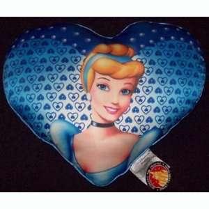 Disney World Princess Cinderella Heart Toss Pillow