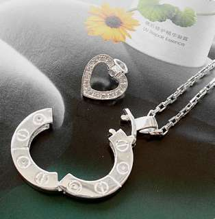 New Korean Drama Stairway to Heaven Couple Necklace