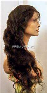 Full Lace Wig 28 Handmade MALAYSIAN Remy Human Hair   CUSTOM ORDER