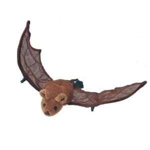 Mexican Free Tailed Bat, Realistic Wildlife Plush Stuffed