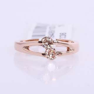 18kt Gold Plated Crystal Cute Ring  94891