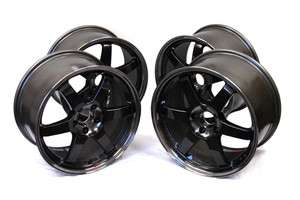 Volk Racing TE37 SL Wheels Rims 18x10.5 08 Mitsubishi Evo X