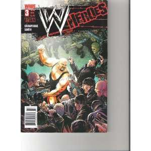WWE Heroes Comic (Big Show Cover, June 2010 Number 3
