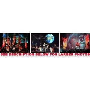MICHAEL JACKSON HISTORY TOUR STAGE 4 (3) RARE 8x10 FINE