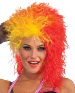 Dance Party Princess 80s Adult Costume Wig Cyndi Lauper NEW
