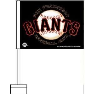 San Francisco Giants MLB Car Flag