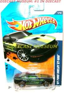 2007 07 FORD SHELBY GT 500 MUSTANG HOT WHEELS HW DIECAST 164 2010
