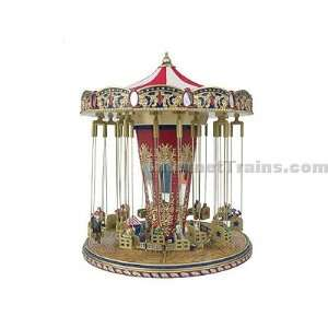 Mr. Christmas Worlds Fair Animated Music Box   Swing