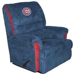 Chicago Cubs MLB Team Logo Big Daddy Recliner