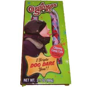 Christmas Story I Triple Dog Dare You Cherry Candy Cane