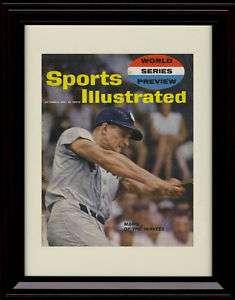 Framed 61 Roger Maris Sports Illustrated Print Yankees