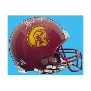 Marcus Allen Hand Signed USC Helmet