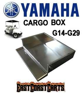 Yamaha G14, G16, G19, G22 Golf Cart Aluminum Diamond Plate Cargo Bed