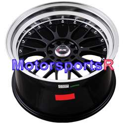 Machine Lip Rims Staggered Wheels 98 04 Ford Mustang GT Cobra